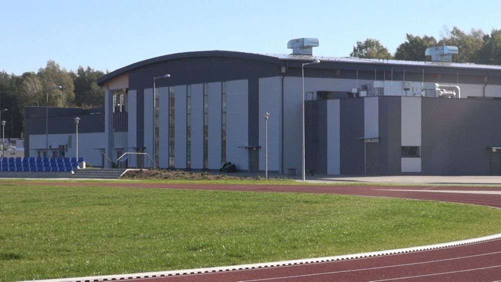 Obiekt sportowy w 32 Jednostce Lotnictwa Taktycznego w Łasku